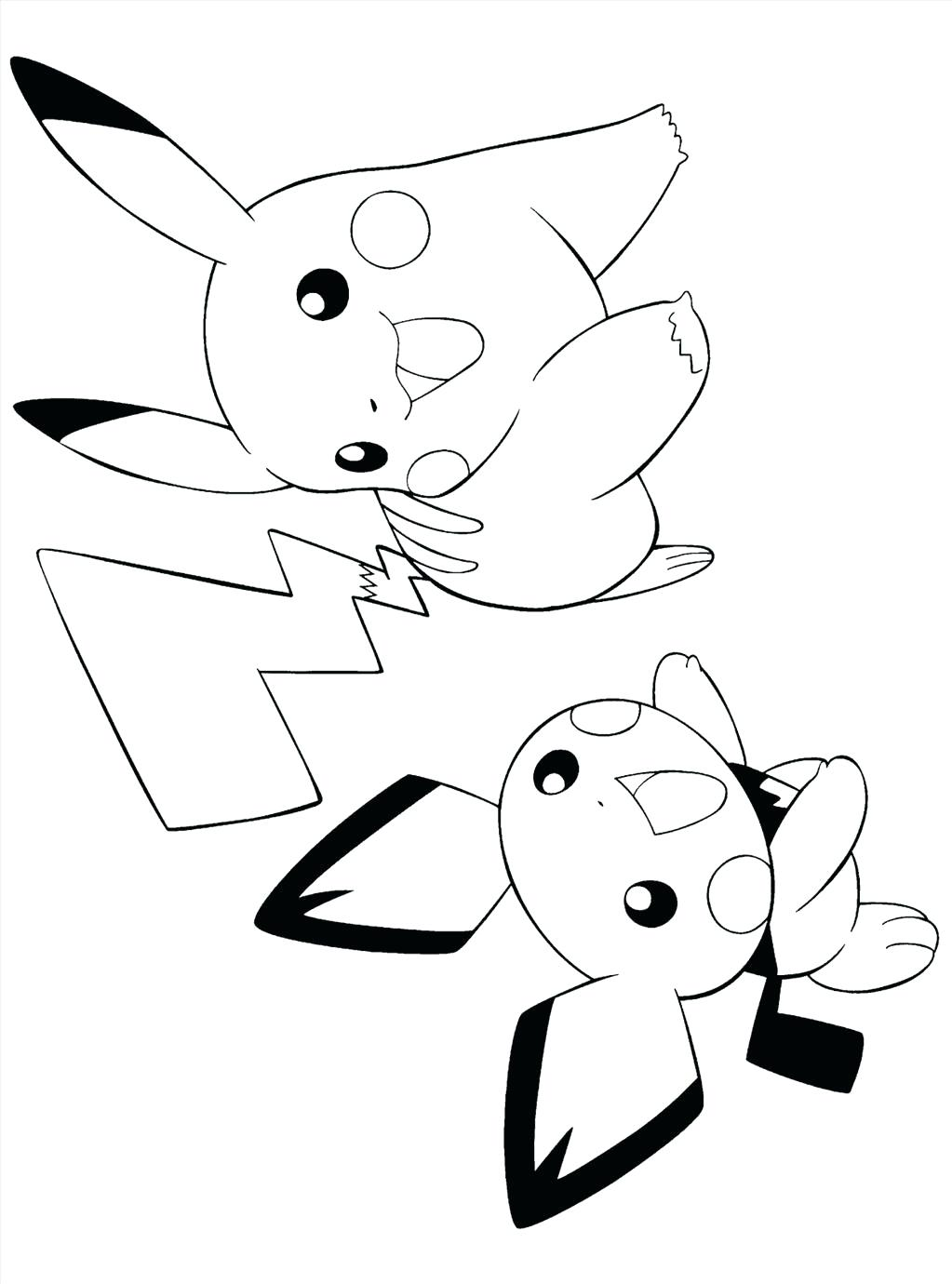 Baby Pikachu Drawing At Getdrawings Free For Personal Use Baby