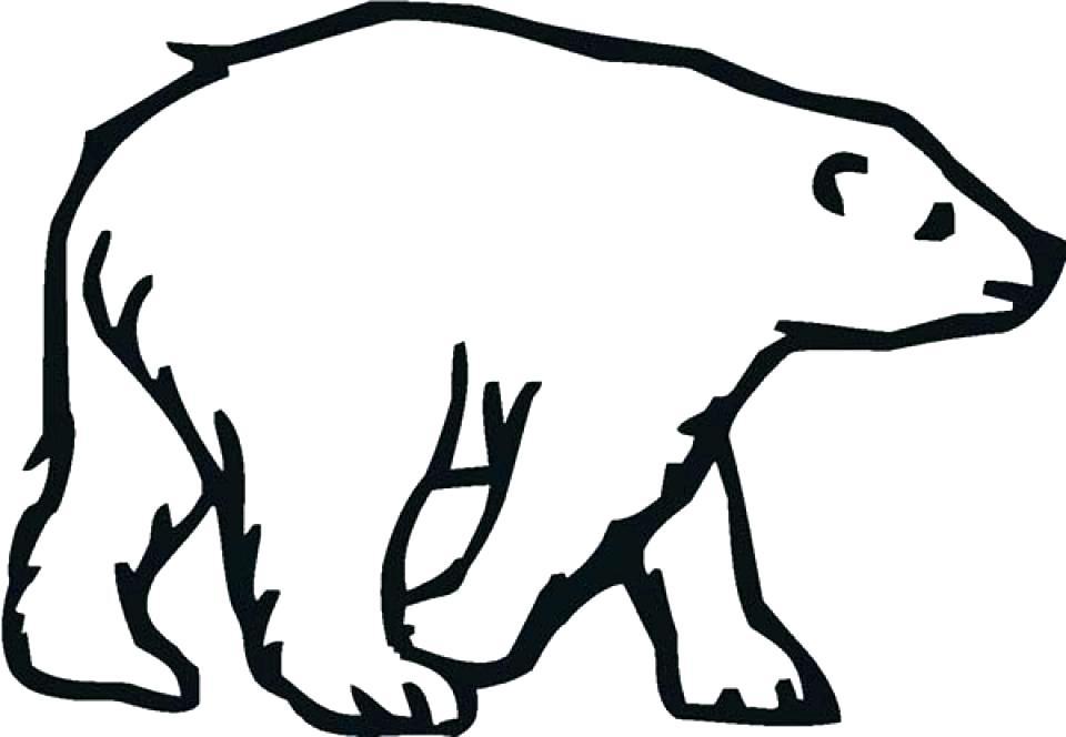 960x664 Polar Bear Color Sheet Baby Polar Bear Coloring Pages Coloring
