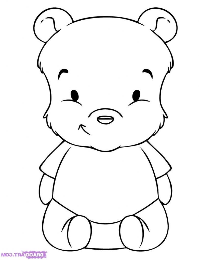 781x1024 Cartoon Drawings Babies How To Draw Baby Pooh, Stepstep, Disney
