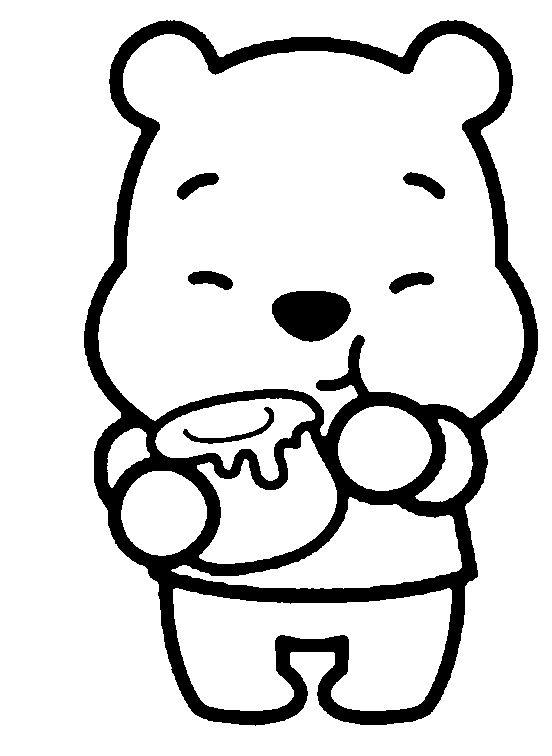 552x756 Winnie Pooh Tierno Baby Para Dibujar
