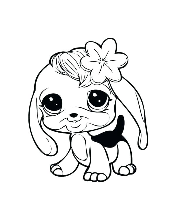 600x750 baby puppies coloring pages puppy dog coloring pages little pet - Coloring Page Puppy