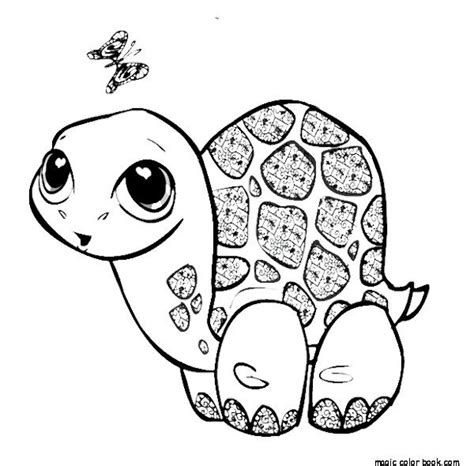 Baby Sea Turtle Drawing