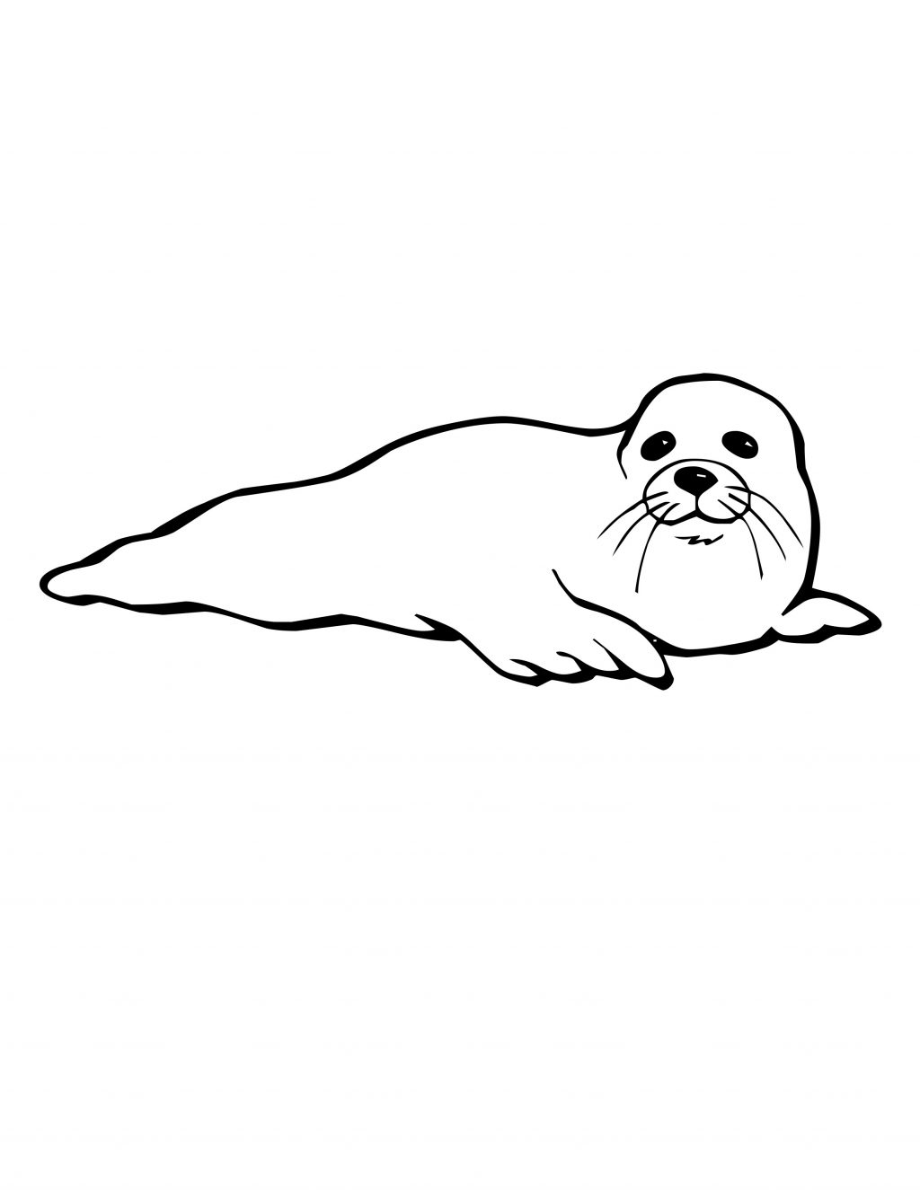 1024x1325 Baby Harp Seal Coloring Pages Coloring Page For Kids