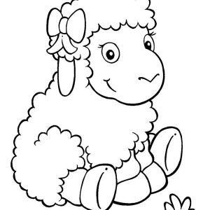 300x300 Best How To Draw Sheep Ideas On Draw Animals