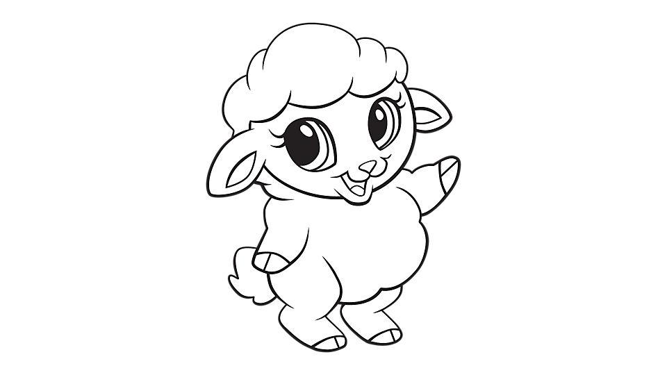 960x540 Drawn Sheep Baby Sheep