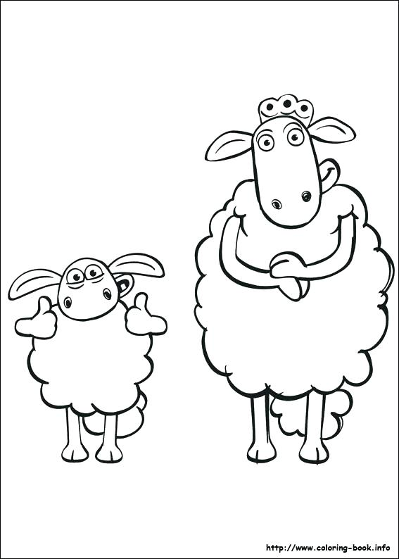 567x794 Coloring Pages Of Sheep Synthesis.site