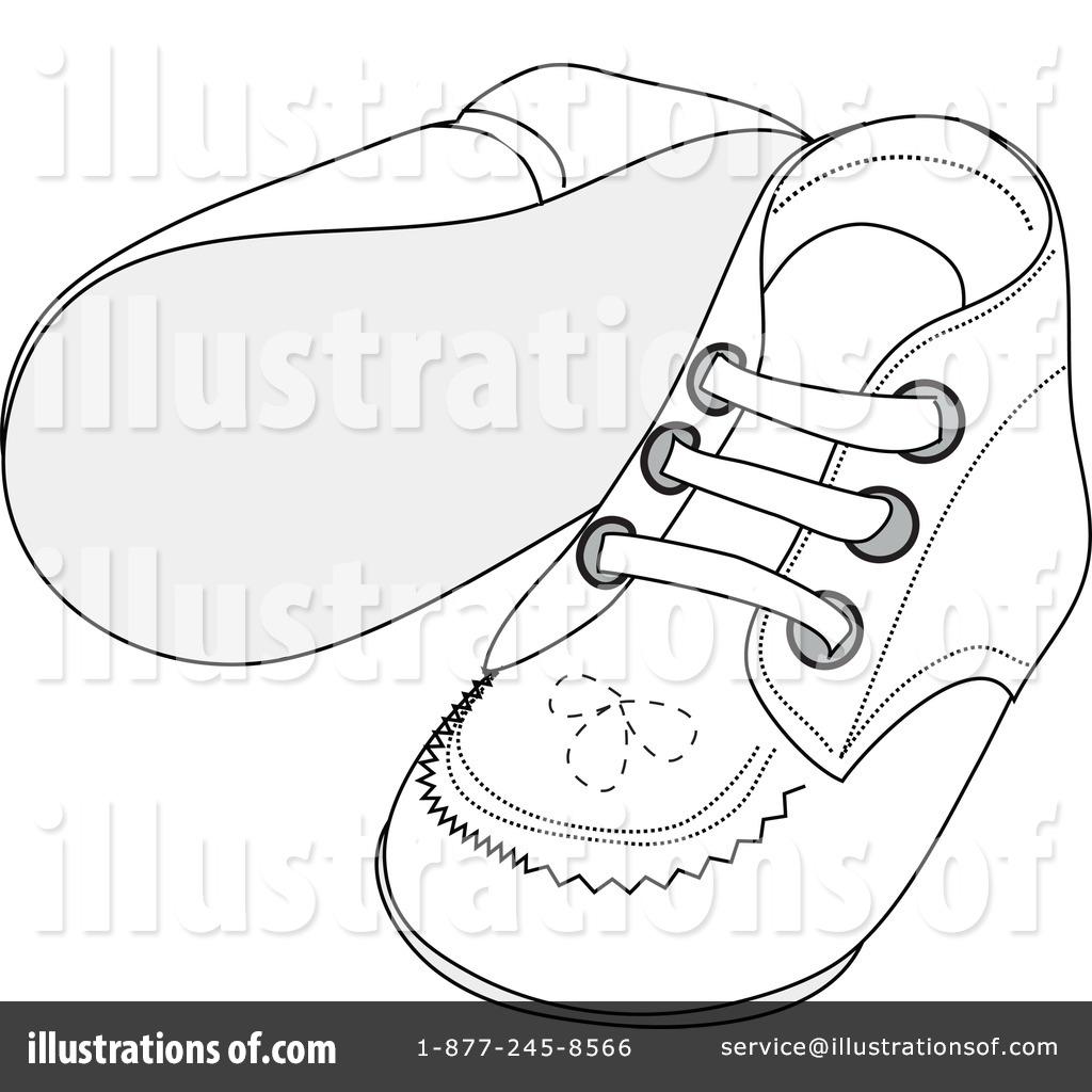 1024x1024 Baby Shoes Clipart