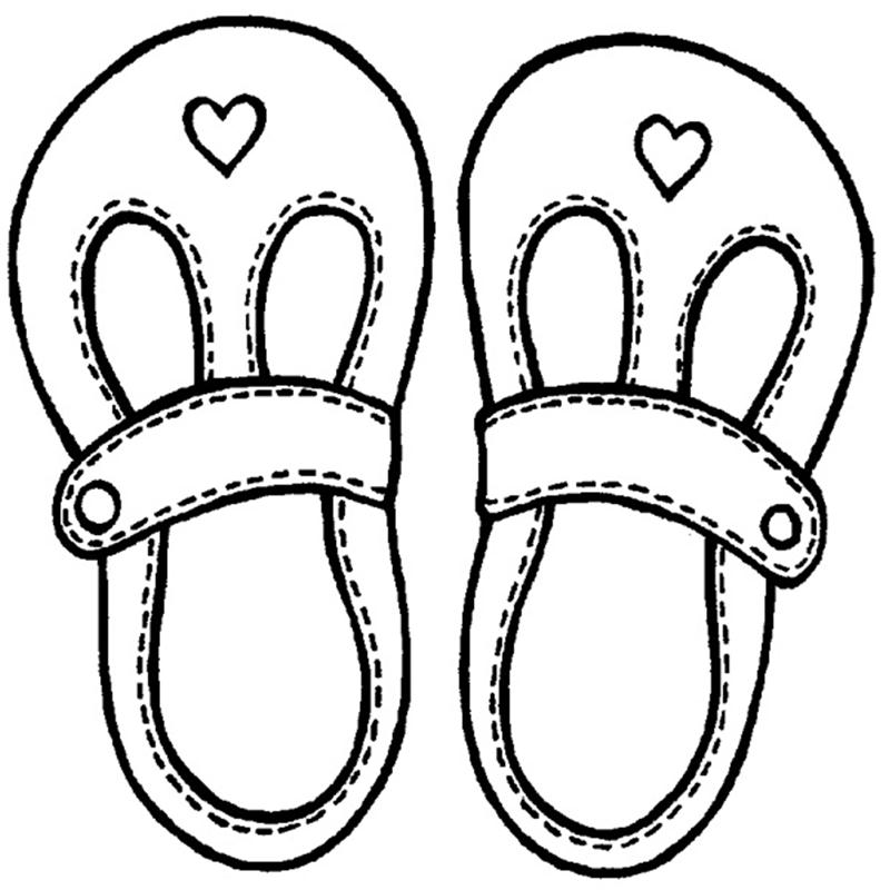 800x800 Tennis Shoe Rubber Stamp Girl Shoes Clipart Black And White
