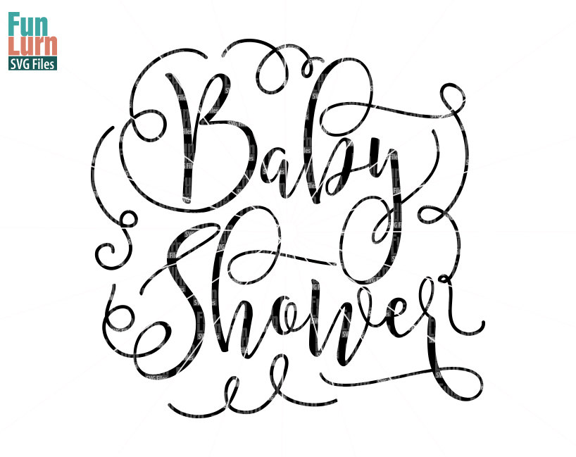 818x649 Baby Shower Svg, Title, Graphic, Baby Shower, Word Art