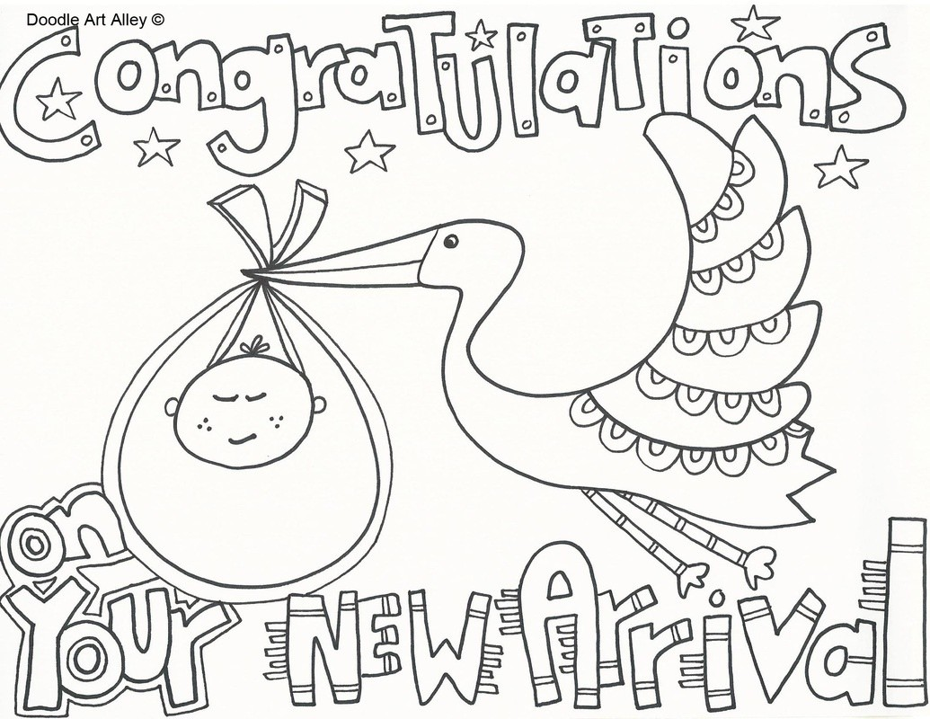 1035x800 Welcome Baby Coloring Pages Fresh Free Printable Shower