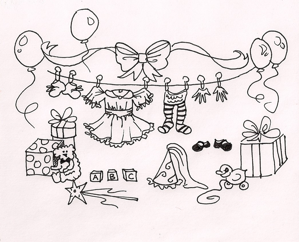 Baby Shower Drawing At Getdrawings Free For Personal Use Baby