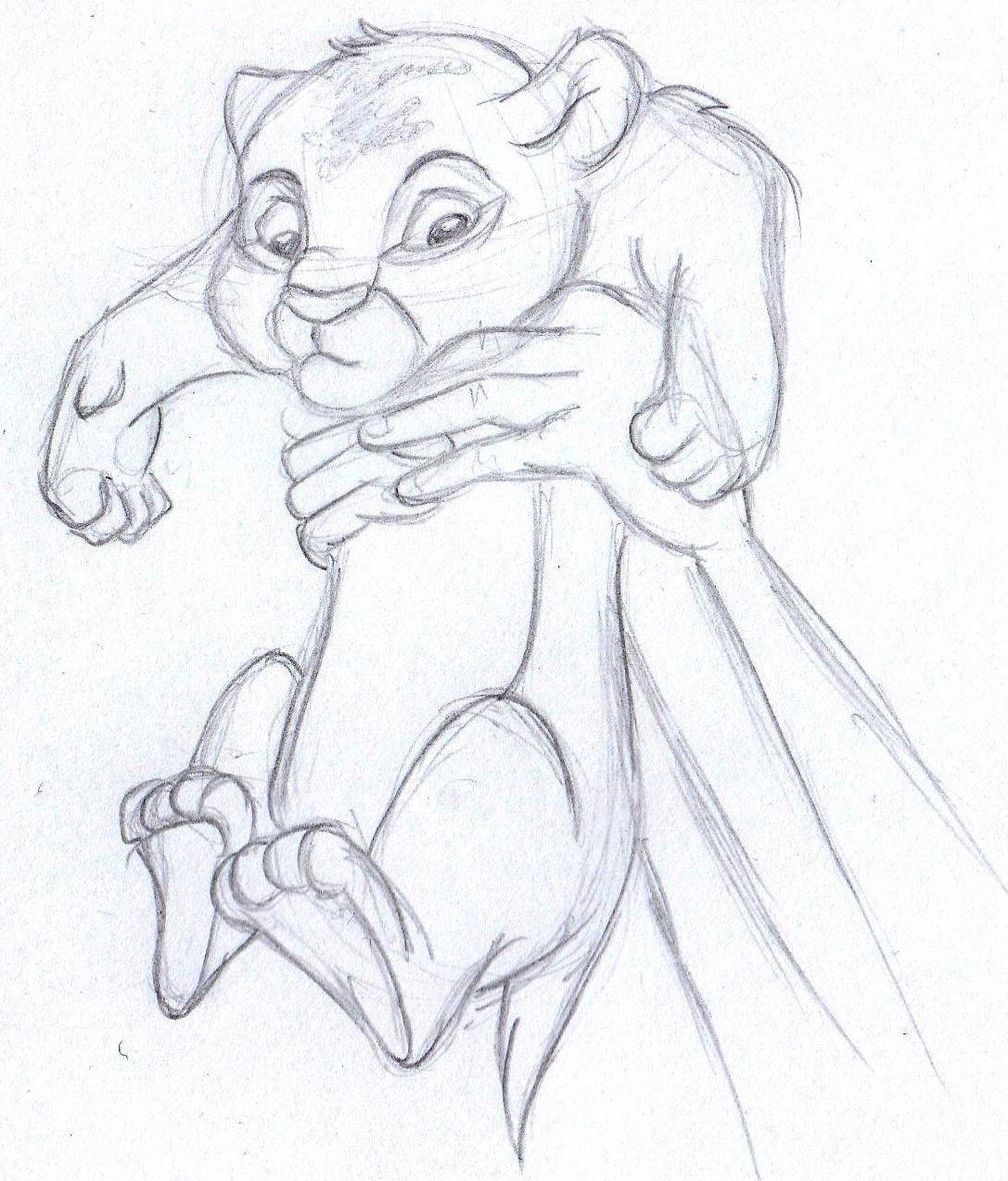 1087x1273 Simba The Lion King Re Leone Disney Concept Art
