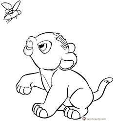 236x247 What About Coloring This Beautiful Picture Of Baby Simba In His