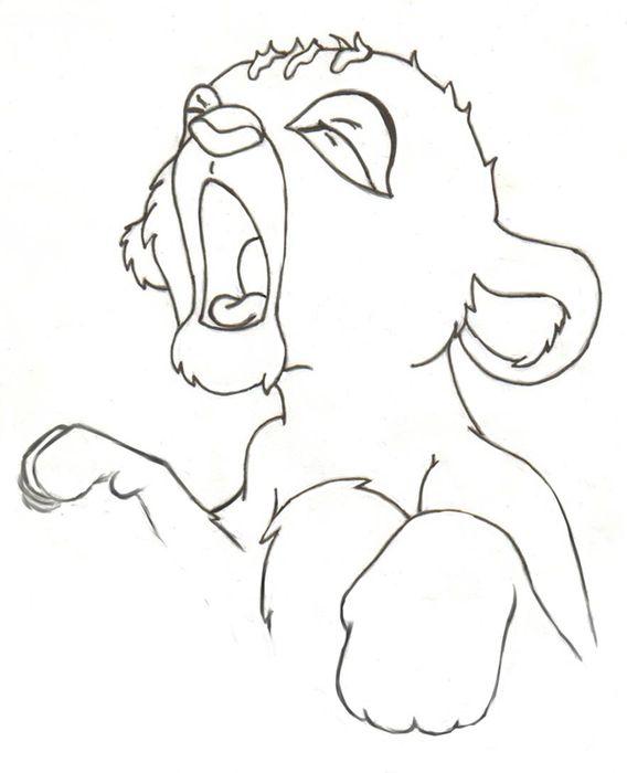 568x700 Sleepy Baby Simba By Kuronezumi 666