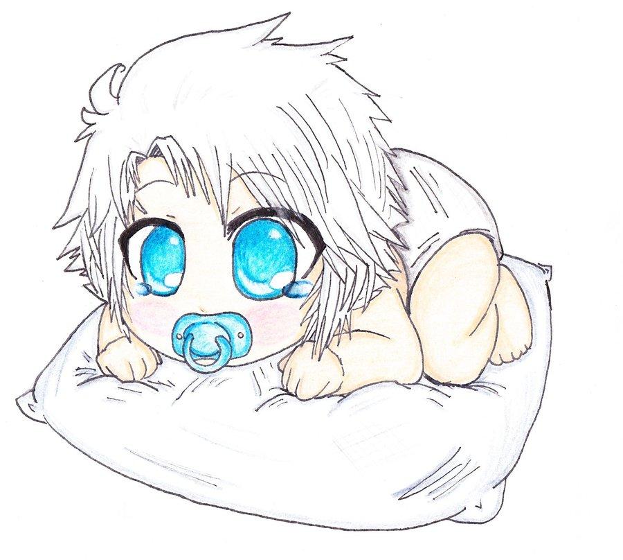 900x808 Drawn Baby Anime