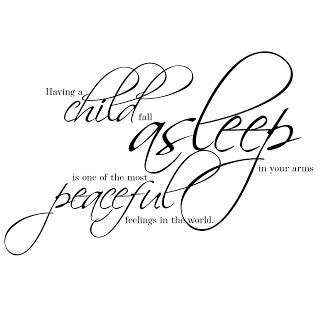 320x320 Elegant Wordart 2 Peaceful Sleeping Child