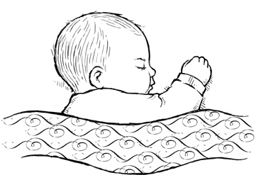 361x247 It Was Fun To Draw This Little Baby Sleeping. Illustration