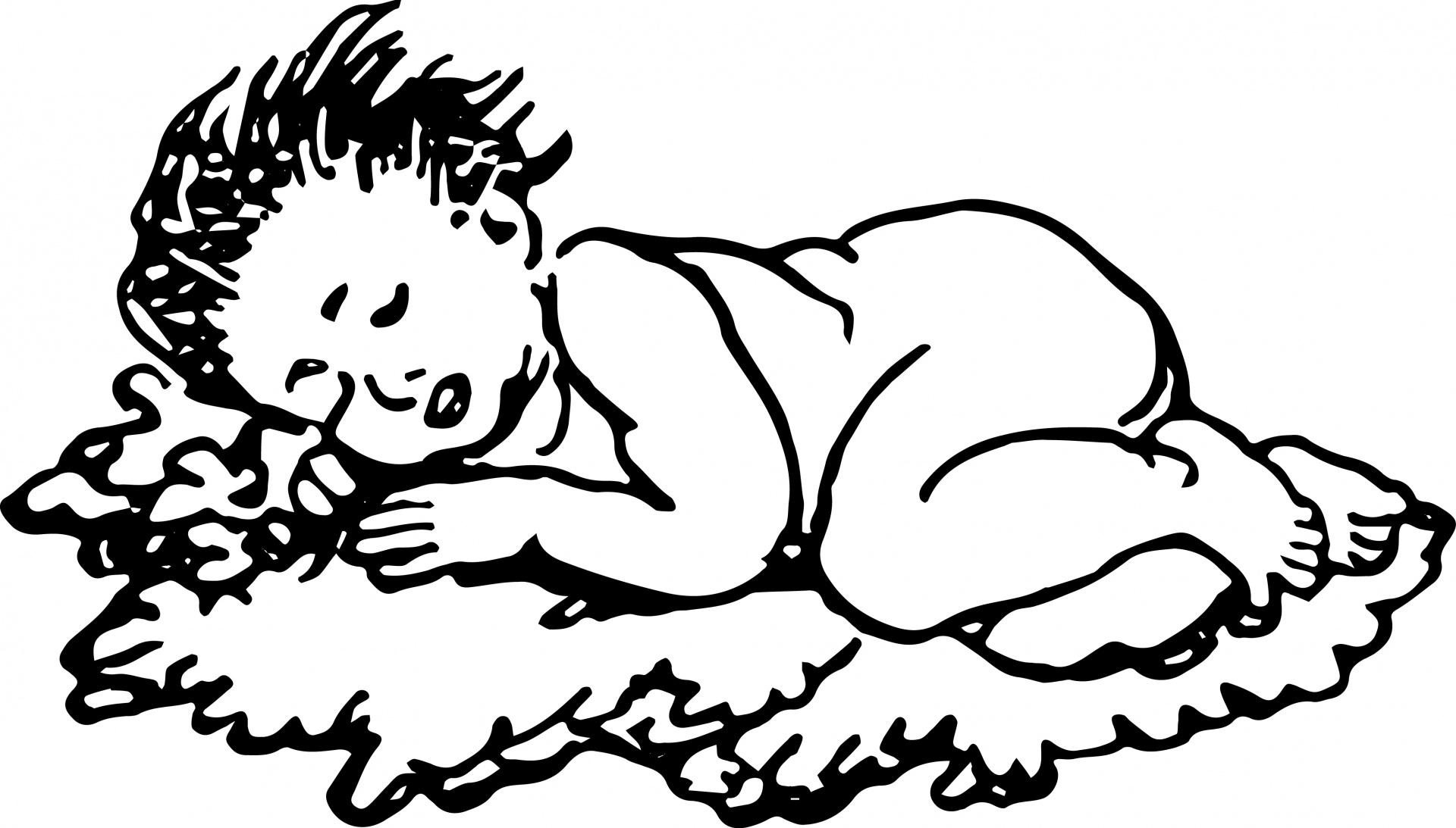 1920x1093 Sleeping Baby Free Stock Photo