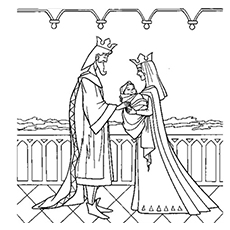 230x230 Top 15 Free Printable Sleeping Beauty Coloring Pages Online