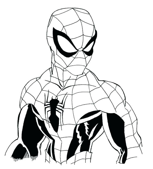 618x683 Coloring Games Spiderman Comics Spider Man Color Activity Page 1