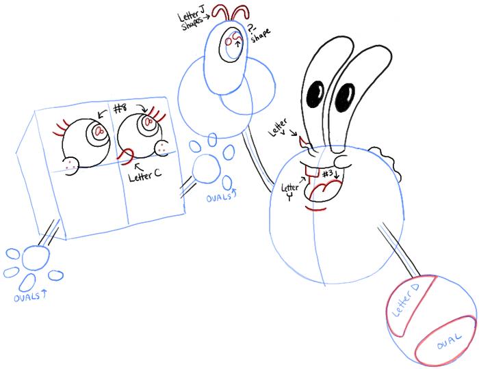 700x540 How To Draw Baby Spongebob, Mr. Krabs, And Plankton From Spongebob