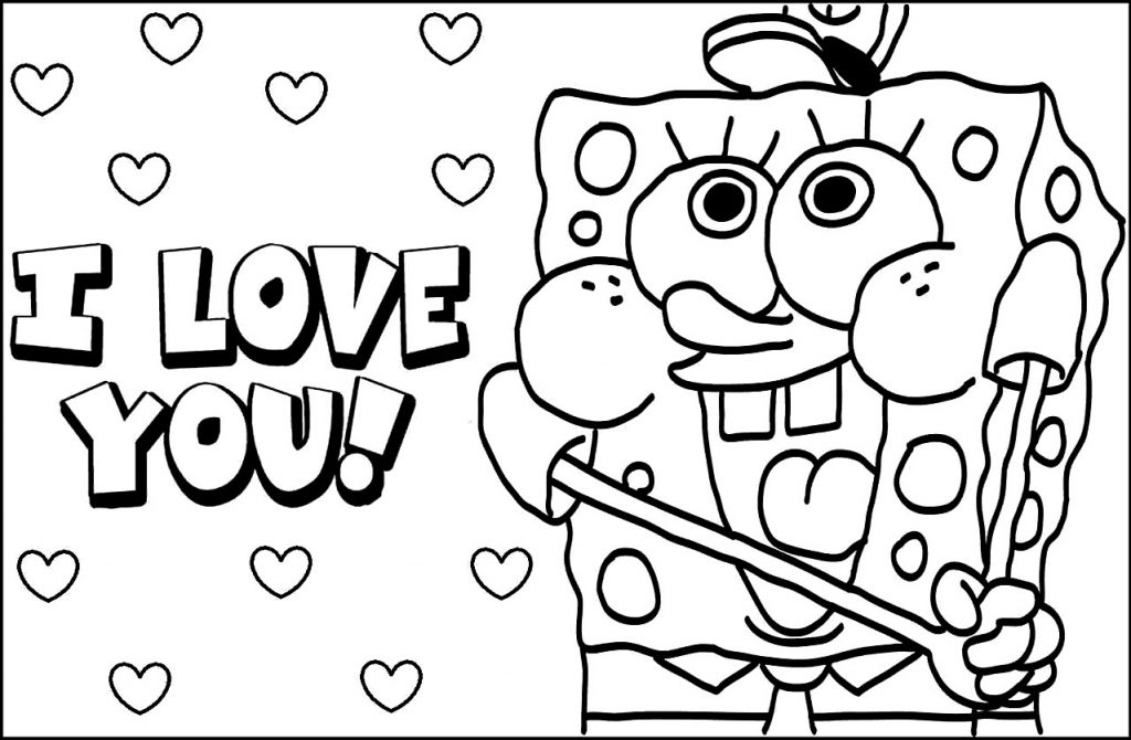 1024x670 Baby Spongebob Coloring Pages Coloring Page For Creativity