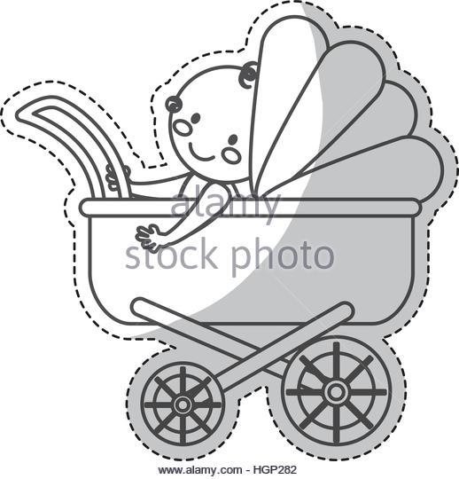 518x540 Baby Stroller Icon Image Vector Stock Photos Amp Baby Stroller Icon