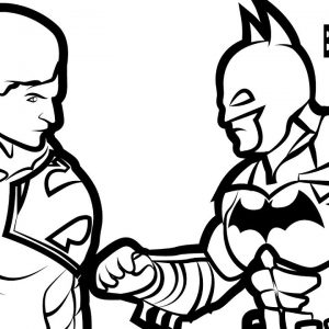 300x300 Baby Superman Coloring Pages Copy Draw Color Paint Baby Superman