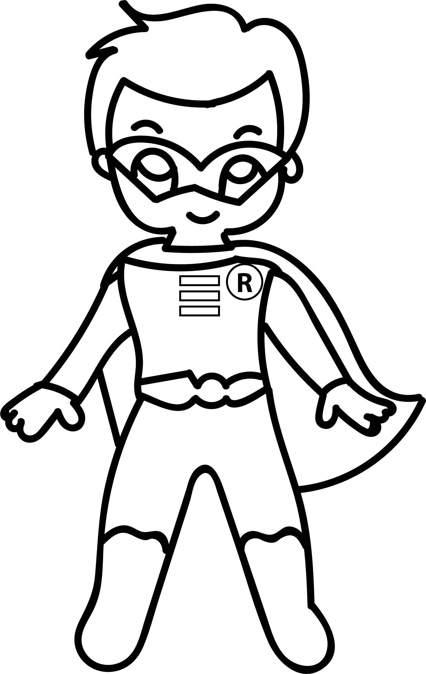 1371x2167 Appealing Superhero Costume Coloring Pages Hellokidscom Pic