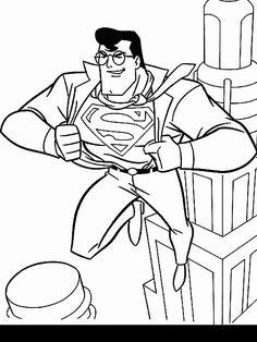 236x314 Color Pages Of Superman Superman, Superman Picture Coloring