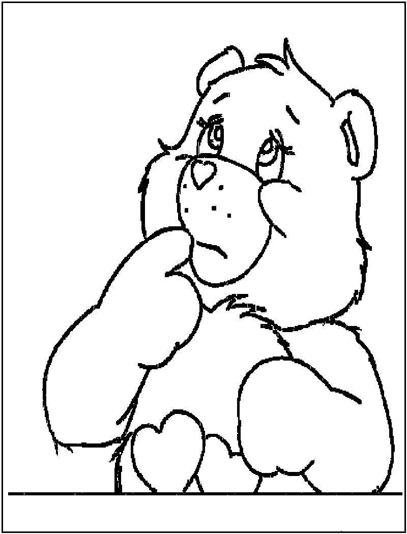 800x1050 Trendy Printable Bear Coloring Pages For Kids Teddy Print Cute