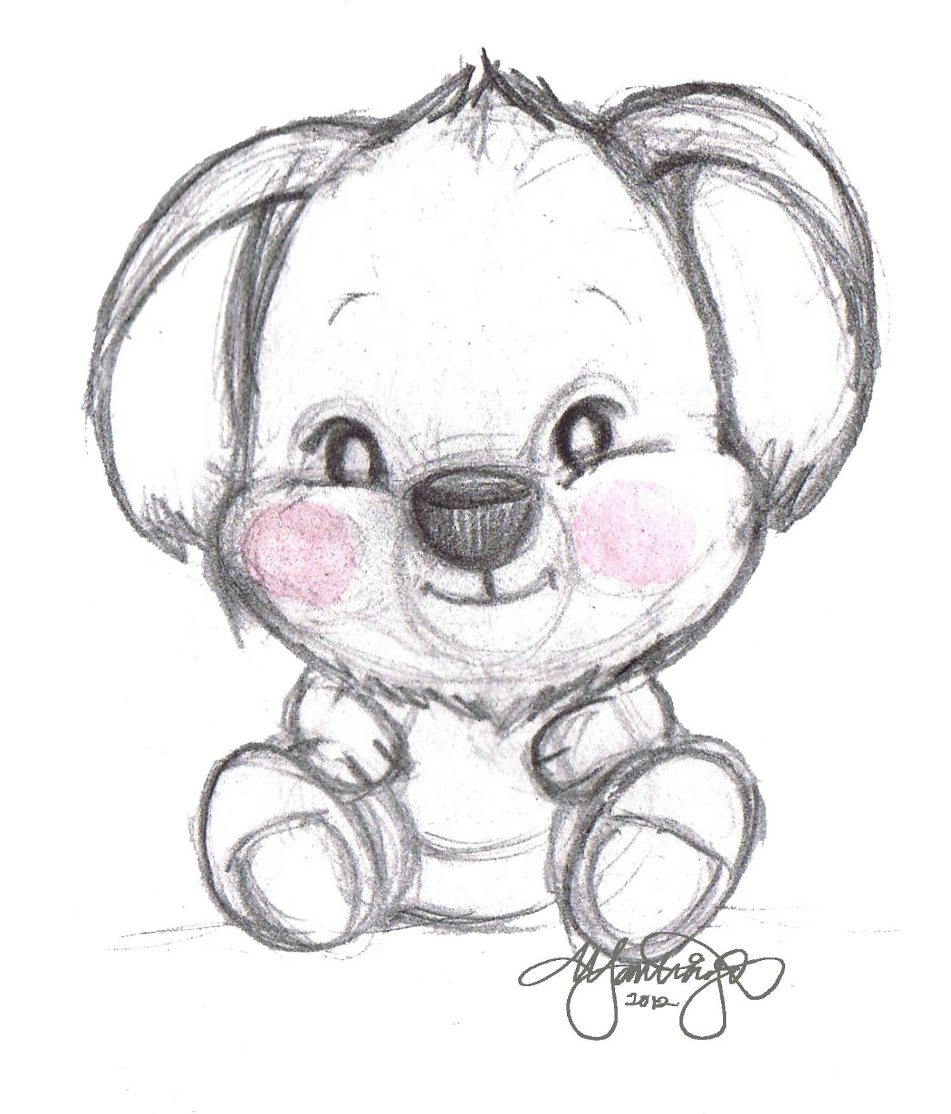 1365x1600 Best Photos Of Babies Koala Bear Sketch