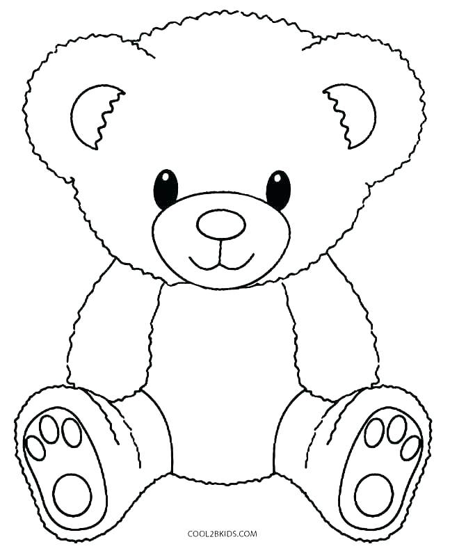 Baby Teddy Bear Drawing at GetDrawings | Free download