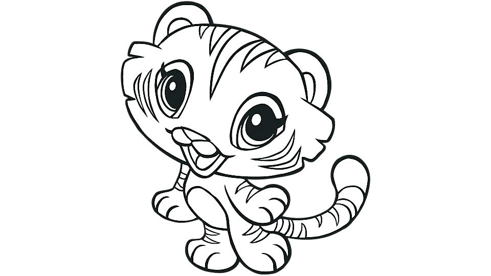 960x540 Coloring Pages Tigers Elegant Tiger Coloring Sheet For Adults Free