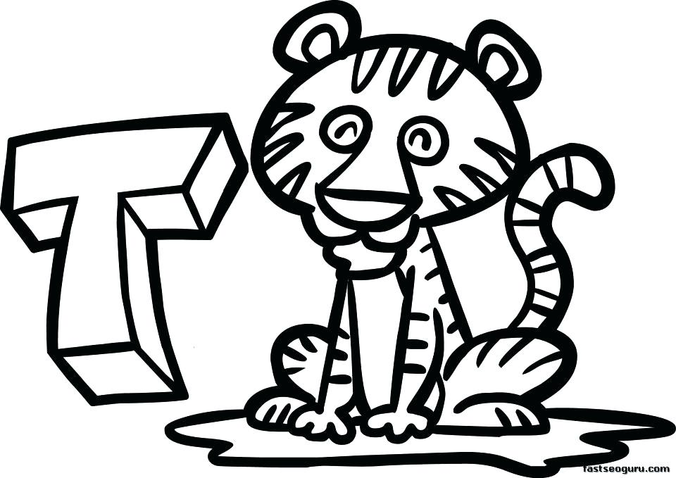 960x679 Baby Tigger Coloring Pages Cute Tiger Drawing Baby Margaret Tiger