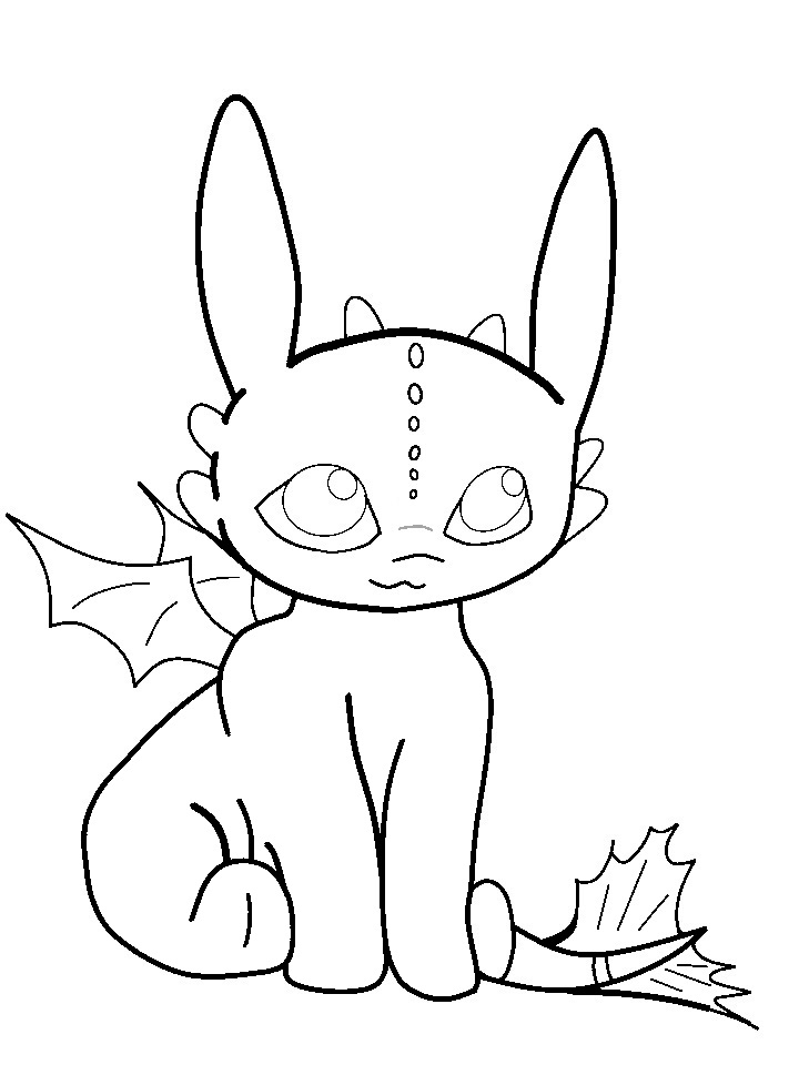 720x960 Baby Toothless Base By Kikan09