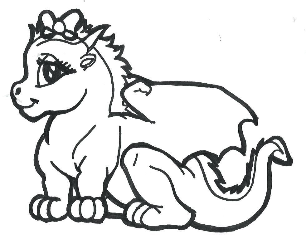 981x798 Baby Toothless Dragon Coloring Page Pages Wild Things Dragons