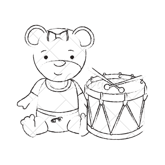 550x550 Baby Toys Sketch