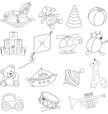 380x400 Baby Toys Vector Random Cool Stuff Baby Toys, Toy
