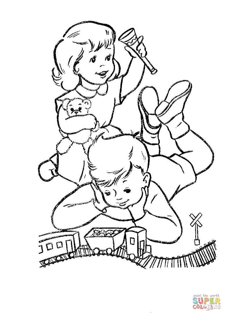 Baby toys drawing at free for personal for Baby toys coloring pages
