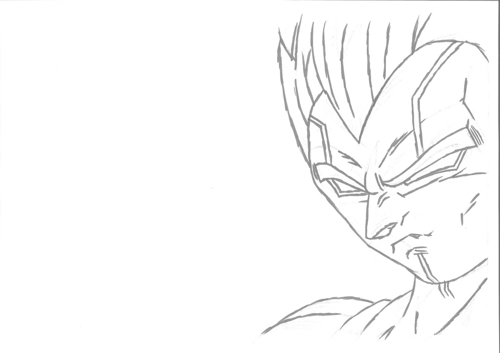 Baby Vegeta Drawing