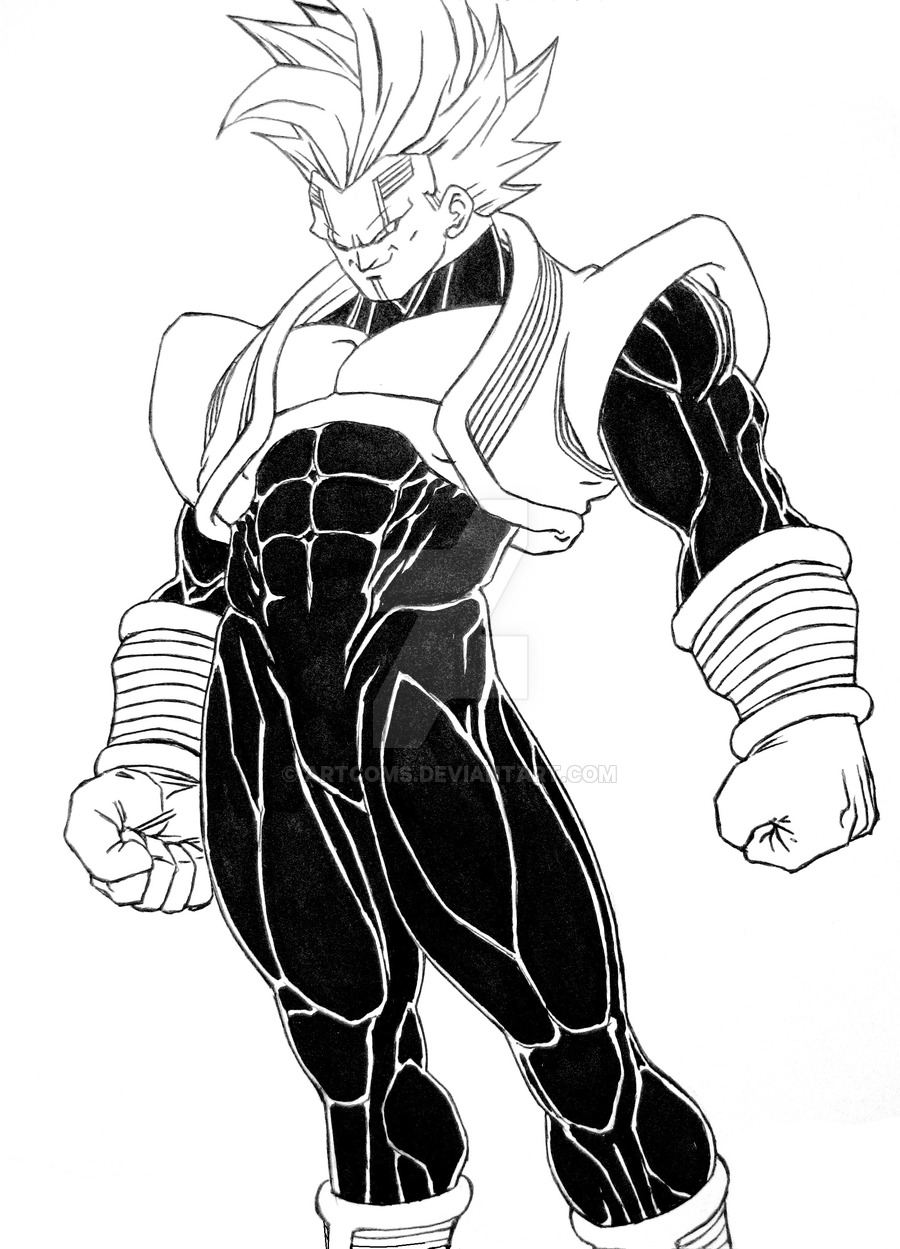 900x1249 Baby Vegeta Commission By Artcoms