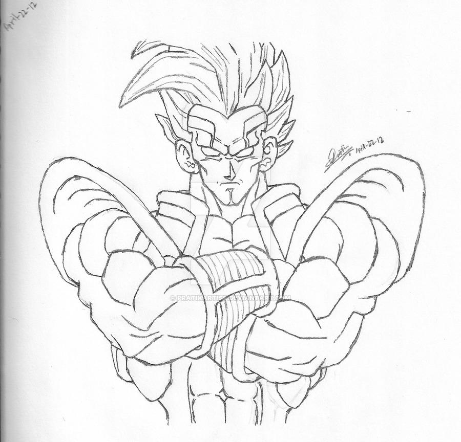 900x864 Dragon Ball Gt Baby Vegeta By Pratikartist