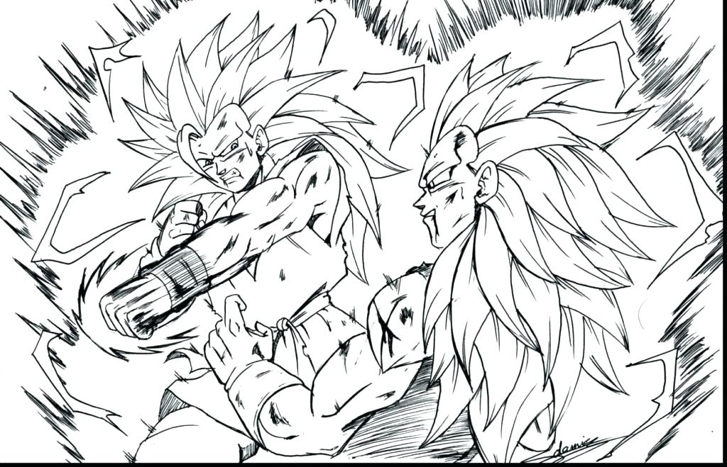1024x659 Fresh Vegeta Coloring Pages For Dragon Ball Z Coloring Page 41