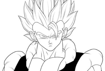 370x250 Baby Vegeta Coloring Pages