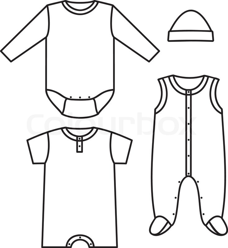Baby Vest Drawing at GetDrawings.com | Free for personal ...