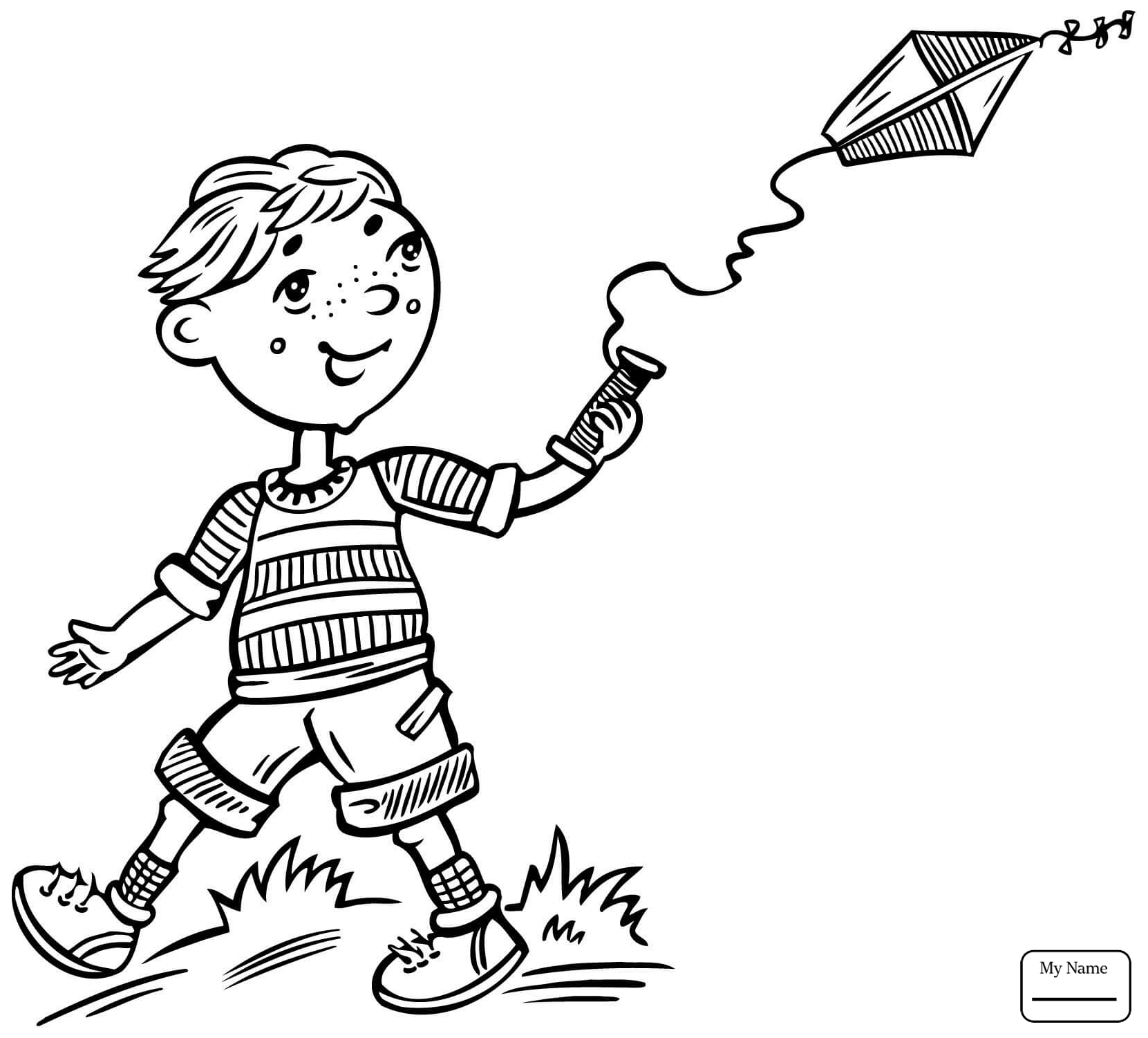 1661x1501 Coloring Pages People Boys Happy Little Boy