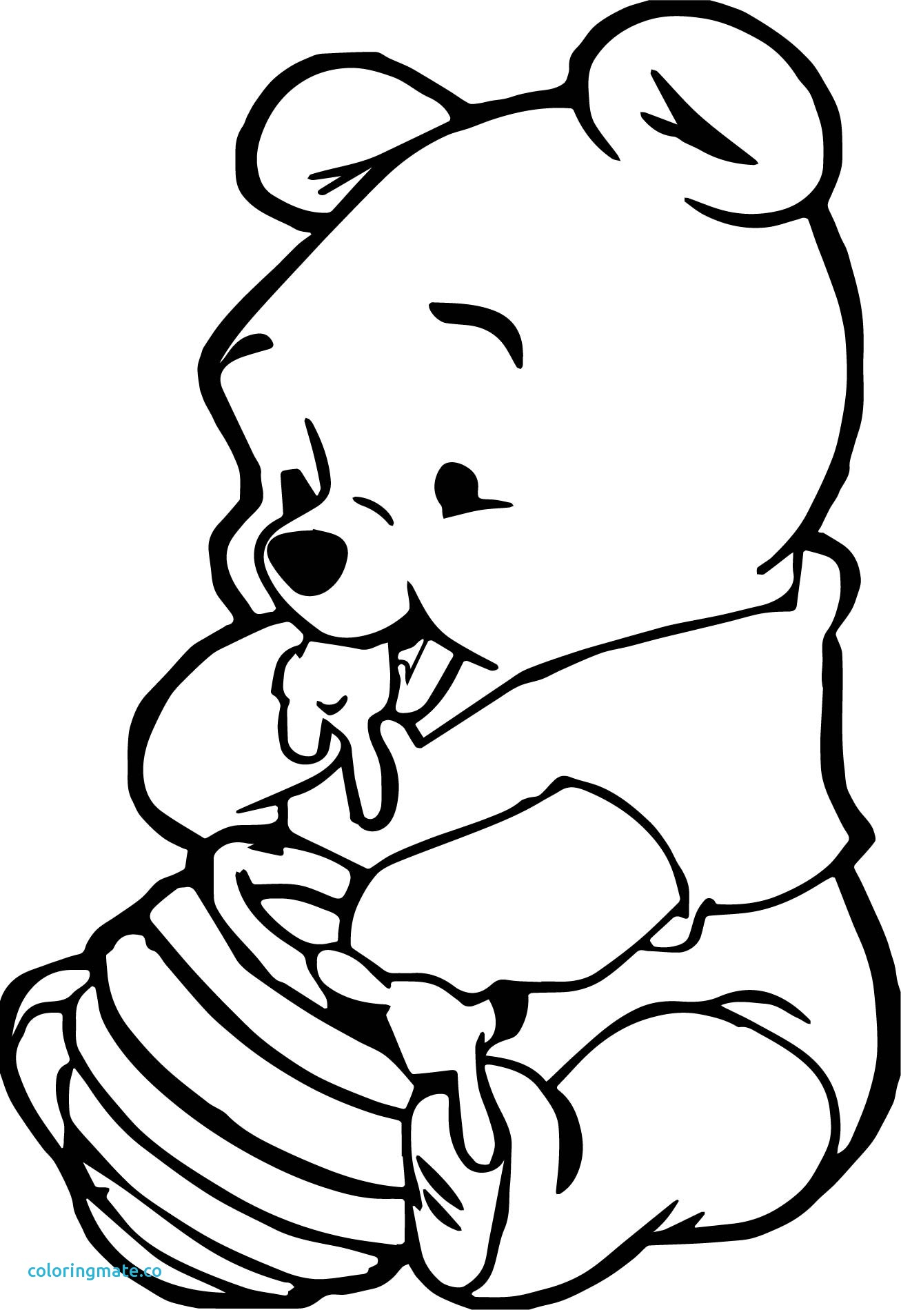 Baby Winnie The Pooh Drawing