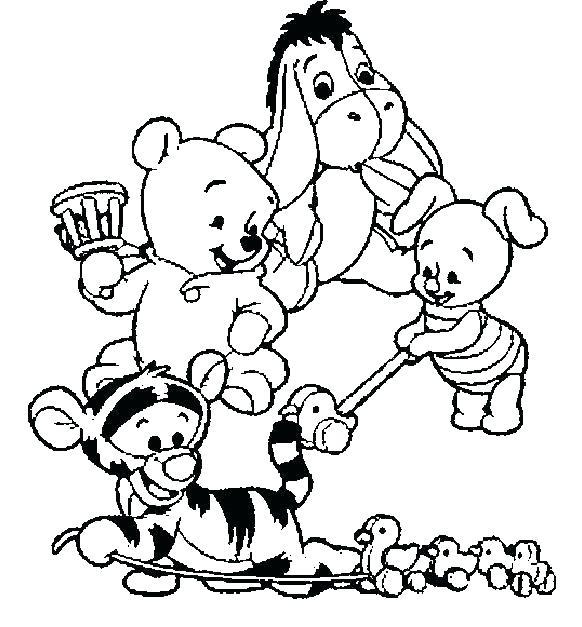 Ziemlich Baby Winnie Puuh Ausmalbilder Bilder - Framing Malvorlagen ...