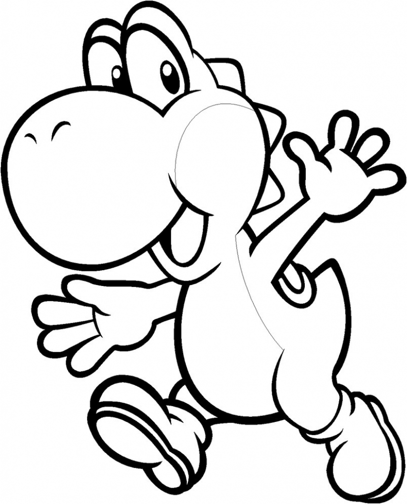 Baby Yoshi Drawing